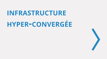 VMware infrastructure hyper-convergée