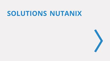 Solutions infrastructure Nutanix