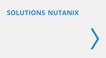 Solutions de virtualisation Nutanix